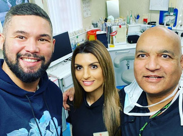 Tony Bellew & Khan Cosmetic Dentist Liverpool